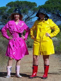 Raincoats For Women April Showers Refferal: 5225758183 Green Raincoat, Vinyl Raincoat, Raincoats For Women, Rubber Raincoats, Adele, Imper Pvc, Rain Fashion, Boots, Riding Boots