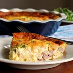 Breakfast, brunch, lunch or dinner, make this crustless quiche once, and you'll find yourself making it again and again!