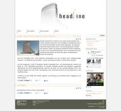 www.headline.co.at Website