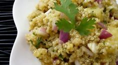 Pineapple Quinoa Salad with Sweet Curry Vinaigrette