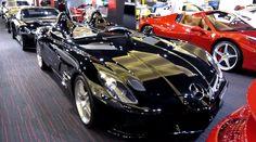 Mercedes SLR Stirling Moss in Deep Gloss Black | Car Sport
