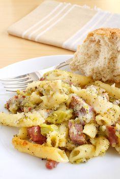 Ham Broccoli and Cheese Casserole