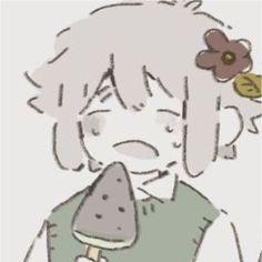 Pixiv: 𓅼 𓅮 𓅿 Cute Anime Profile Pictures, Matching Profile Pictures, Matching Pfp, Matching Icons, A Silent Voice Anime, I Want To Cry, Pretty Images, Jojo Bizarre, Jojo's Bizarre Adventure