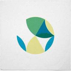 #461 Summer here kids – A new minimal geometric composition each day