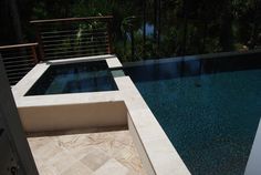 Residential Swimming Pool and Spa Combination | Aqua Blue Pools