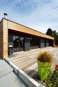 booa maisons ossatures bois design modulables maison biscarosse pinterest platelage. Black Bedroom Furniture Sets. Home Design Ideas