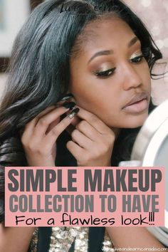 Here is how to create a simple minimalist makeup collection. Here is what to include in your makeup storage collection. Every beauty product to include in your minimalist makeup collection! Natural makeup inspiration ideas! #makeup #beautyproduct #minimalistmakeup Good Beauty Routine, Makeup Routine, Wispy Eyelashes, Simple Makeup Tips, Minimalist Makeup, Celebrity Makeup Looks, Create A Signature, Korean Skincare Routine, Low Self Esteem