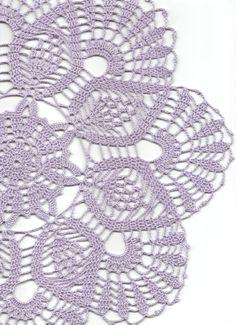 Crochet doily lace doily table decoration crocheted by DoilyWorld, £8.00
