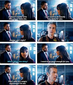 Doctor Who. Danny Pink. The Caretaker.