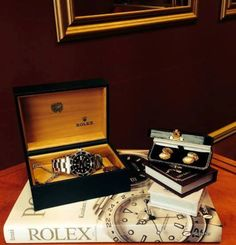 #Rolex #Watch #Gifts #For #Him #Gold #Antique #Vintage #Cufflinks
