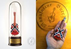 Handmade miniature instrument  Dixie rebel by ManufacturBurchardt