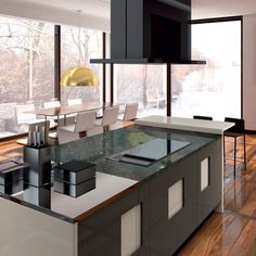 Modern kitchen design by Ernestomeda