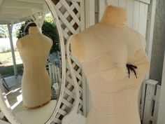 Antique Mannequin  Display Mannequin  Vintage Dress Form