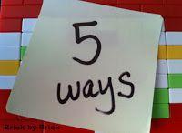 Brick by Brick: 5 Ways to Use Jingle Bells Recycled Toys, Craft Stick Crafts, Craft Sticks, Hundreds Chart, Lego Brick, Jingle Bells, 5 Ways, Dollar Stores, Teaching Resources