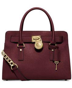 e52e2b0b8 MICHAEL Michael Kors Hamilton Saffiano Leather East West Satchel - Michael  Kors Handbags - Handbags &
