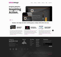 Creative Web Design Agency Based in Staffordshire - Attain Design - Webdesign inspiration www.niceoneilike.com