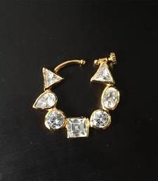 Find wide range of fashion jewellery, imitation, bridal, artificial, beaded and antique jewellery online. Buy imitation jewellery online from designers across India. Small Hoop Nose Ring, Gold Hoop Nose Ring, Nath Nose Ring, Rose Gold Nose Ring, Diamond Nose Ring, Nose Ring Jewelry, Bridal Nose Ring, Indian Jewelry Earrings, Gold Nose Rings