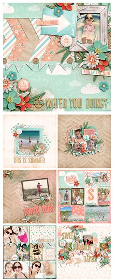 Endless Summer – NEW from Zoe Pearn « Zoe Pearn Designs