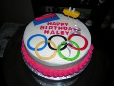 A birthday cake for the gymnastics hopeful. Gymnastics Cakes, Gymnastics Birthday, Gymnastics Stuff, 10th Birthday, Birthday Cake, Birthday Parties, Birthday Ideas, Amazing Cakes, Decorating Tips
