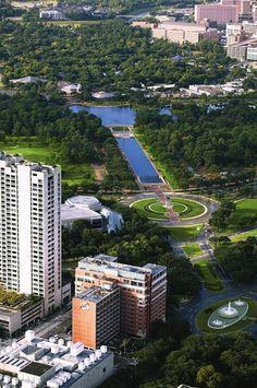 Herman Park, Houston Texas