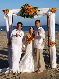 Fun and Romantic Weddings!!  www.greatofficiants.com  (855)WED-VOWS  Southern California Beach Weddings