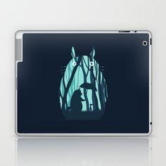 My Neighbor Totoro Laptop & iPad Skin by Filiskun - $25.00