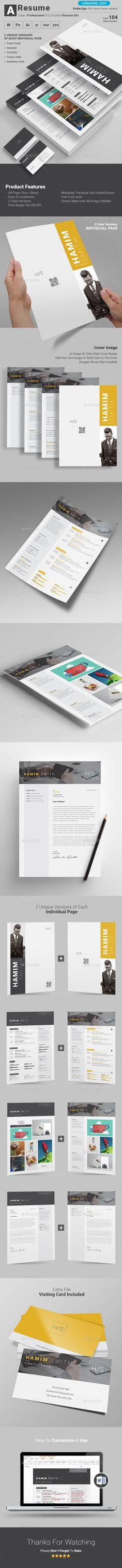 Dynamic Resume Cv template, Resume cv and Creative cv template - graphic design resume template download