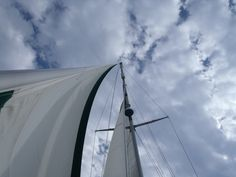 Life on a sail boat - things are looking up.