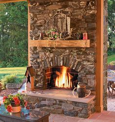 Not too big, not too small. Rustic and homey.