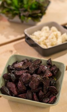 Balsamico-punajuuret | Maku Vegetarian Recepies, Vegan Recipes, Vegan Food, Food Food, Finnish Recipes, No Salt Recipes, Just Eat It, Beef Dishes, Rice Dishes