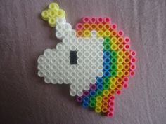 Unicorn perler beads by *PerlerHime on deviantART