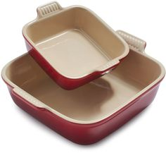 Le Creuset Cherry Square Bakers