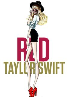 The Taylor Swift Eras - Red - by Armand Mehidri