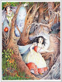 """assemblyfairytale: """" Snow White by Kay Chorao """""""