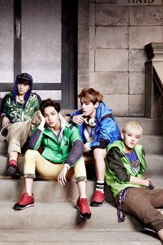 Suho, Kai, Baekhyun and Tao - EXO