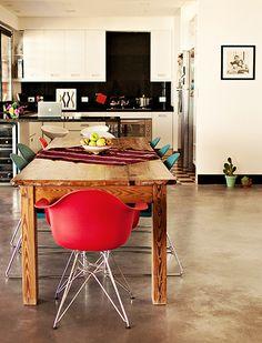 Image/Interior by karina manghi via Decor8 #interior #kitchen #dining