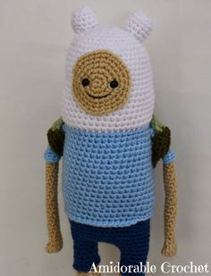 Finn From Adventure Time Pattern
