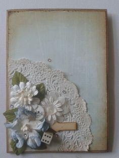 Benita Bruncke, lyseblå vintage