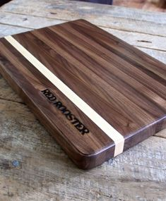 Butcher Block Cutting Board