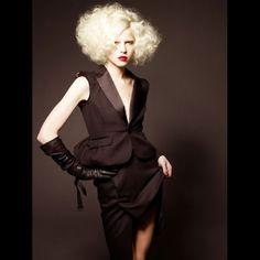 Hair by Sacha Mascolo-Tarbuck, Global Creative Director at TONI