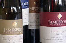 """On Our List from Jamesport Winery, Jamesport: Sparkling Syrah, Riesling, Cabernet Franc, Pinot Noir """"Sarah's Hill,"""" Sidor """"Reserve,"""" Petite Verdot Reserve, Cabernet Franc and more."""