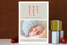 A New Stocking Christmas Photo Cards by b.wise pap... | Minted