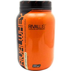 Rivalus Rival Whey Protein is an 80% protein blend with 24g of pure protein and over 5g of BCAAs per serving led by whey protein isolate as its main source.