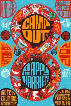 Campout 2012 Poster Design - #8