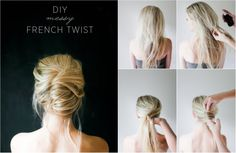 "DIY: ""Chaotický"" účes - KAMzaKRÁSOU.sk #kamzakrasou #krasa #tutorial #beauty #diy #health #hair #hairstyle #uces"