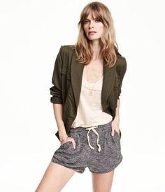 Short Sweatshorts, Dark Gray H&M US $14.99