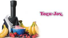 Macchina per gelato e Yogurt Prepara il più salutare e delizioso gelato in pochi secondi. SPEDIZIONE GRATUITA. Offerta a tempo limitato