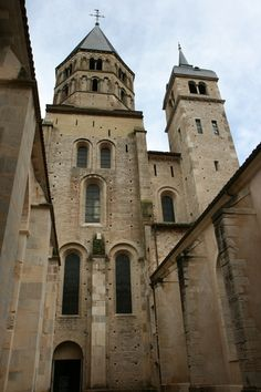 Cluny Abbey - founded in 910 - Cluny, France - 8.5 Euro admission http://en.wikipedia.org/wiki/Cluny_Abbey    Europe
