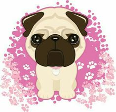 Choose from 60 top Pugs stock illustrations from iStock. Pugs For Adoption, Pug Illustration, Pug Cartoon, Carlin, Pug Art, Cute Dog Pictures, Pug Puppies, Anime Animals, Dog Barking