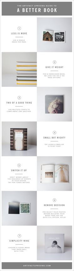 Ideas Book Layout Inspiration Artifact Uprising For 2019 Web Design, Email Design, Layout Design, Layout Inspiration, Graphic Design Inspiration, Branding And Packaging, Design Editorial, Buch Design, Artifact Uprising